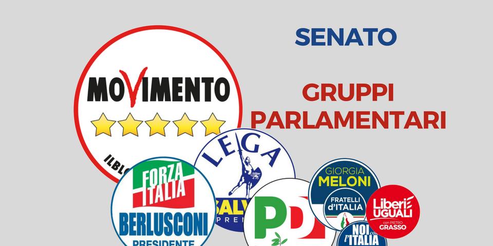 Gruppi in pectore ecco i nomi dei senatori suddivisi per for Lista senatori