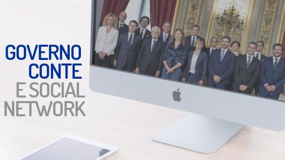 labparlamento GOVERNO CONTE SOCIAL NETWORK
